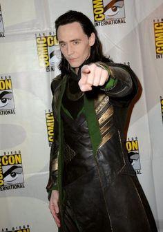 Tom Hiddleston Comic Con 2013