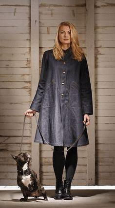 Denim Work Coat by Ann Hamilton