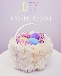 DIY Easter Basket from Susan Tuttle Photography