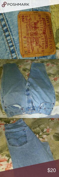 Men's Levis 550 38 x 32 Boot cut Jeans Levi's Jeans Bootcut