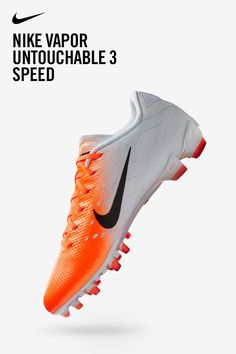 4983cf51b Cleats faster than ⚡. Nike Vapor Untouchable 3 Pros are made for the most  electric