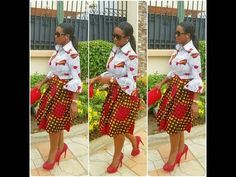 Stand Out With Ankara and Jeans This Weekend - Sisi Couture African Print Dresses, African Dresses For Women, African Attire, African Wear, African Fashion Dresses, African Women, African Beauty, African Prints, African Style