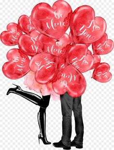 Lovers Under Love Balloons - Paris Love Valentines Day Heart Clip Art PNG - paris, balloon, drawing, flower, free content Valentines Day Drawing, Valentines Day Clipart, Valentines Day Pictures, Valentines Art, Valentines Day Hearts, Valentines Illustration, Heart Clip Art, Mother Art, Love Balloon