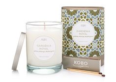 Gardenia Royal || The KOBO CANDLES store ||