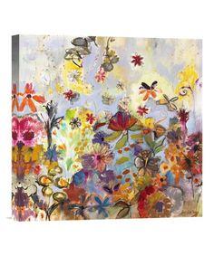 Another great find on #zulily! Joan Elan Davis Garden of Honesty Gallery-Wrapped Replica Canvas, $55-$90 !!  #zulilyfinds