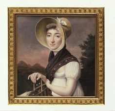 Portrait of a Woman Vincent Bertrand (French, 1770–after 1817) Date: ca. 1810 Medium: Ivory