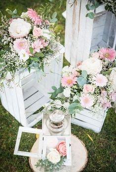 DIY Paint Stir Stick Flower Box Weddings Flower