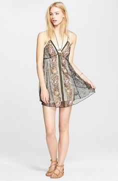 Free People 'Falling Flowers' Slip available at #Nordstrom