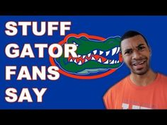 This is the funnest and most true thing ever! 😂😂😂 :Stuff Gator Fans Say University Of Florida Football, Florida Gators Football, Gator Football, College Football, Gator Game, Funny Football Memes, Florida Girl, Sports Humor, Hilarious