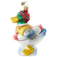 Quack Attack! Ornament by Christopher Radko $56.00