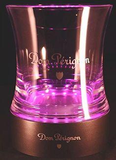 Moet & Chandon Dom Perignon Ice Bucket Illuminated LED Base Brand New