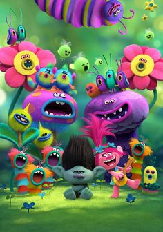 Trolls movie, great for my kids Trolls themed party