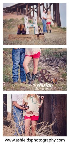 Maternity | Cowboy Boots  | Western Theme | Spurs | Amarillo TX | Photo by A Shields Photography