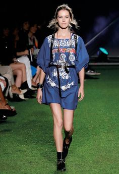 Rock en Plein Air - Blugirl Spring Summer 2015 Fashion Show #mfw