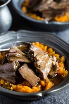 Whole30 and Paleo Pot Roast is the one of the TASTIEST I've ever had! the slow cooker does ALL the work for you, make this gluten free dinner TODAY!