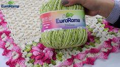 Crochetando com EuroRoma e Sandra Brum -  Ponto Zig zag
