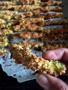 SLELLY: ZUCCROCK - Bastoncini croccanti di zucchine al pep...