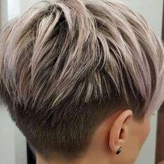 Short Hairstyles Dori Bellanni - 8 - - Short Hair Cuts For Women - Edgy Haircuts, Cute Short Haircuts, Short Hairstyles For Thick Hair, Short Hair Cuts For Women, Pixie Hairstyles, Hairstyles With Bangs, Curly Hair Styles, Wedge Hairstyles, Fashion Hairstyles