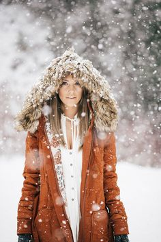 Give me this coat! It is so cute! Love the burnt orange color and flowers on the inside.