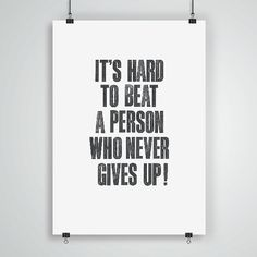 Motivational Inspirational Print Quote Art by TheMotivatedType
