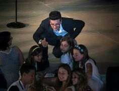 The angel, Piero...watching over some young girls