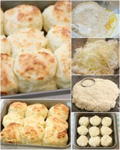 Easy Sour Cream Biscuit Recipe made from scratch in minutes with common ingredients. Perfect soft, flaky texture with fantastic butter flavor. This will be your new favorite biscuit recipe! Sour Cream Biscuits, Angel Biscuits, Homemade Biscuits Recipe, Easy Biscuit Recipe, Low Carb Recipes, Cooking Recipes, Bread Recipes, Cooking Tips, Yummy Treats