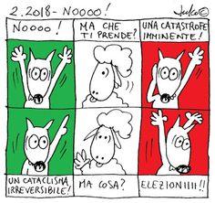 FULVO IL LUPO & Co. - La società animale: 2.2018 - NOOOO!