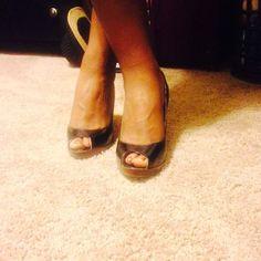Black dress up shoes qupid