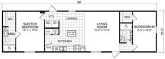 This home is only $19,900 for a limited time only. Does not include freight. 849 sq ft