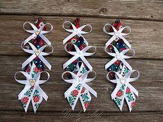 Wedding Inspiration, Wedding Ideas, Hair Bows, Advent Calendar, Wedding Planning, Christmas Ornaments, Hungary, Holiday Decor, Handmade
