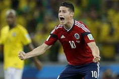 Rodriguez Becomes 2nd-Youngest to Score 6 World Cup Goals