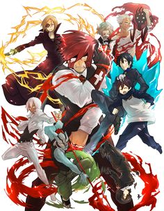 Kekkai Sensen one of my new favorite anime show. They may have a wonky story but the opening and ending songs are just so amazing