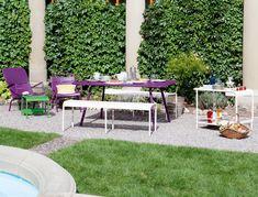 Meubles de jardin Luxembourg - Fermob photo 1 - Crédit photo : Julie Ansiau