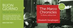 """The-Marco-Chronicles-banner - a quick and sharp read for those who want an antidote to """"Eat, Pray, Love"""""""