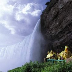 The Journey Behind the Falls takes you behind one-fifth of the world's fresh water supply.