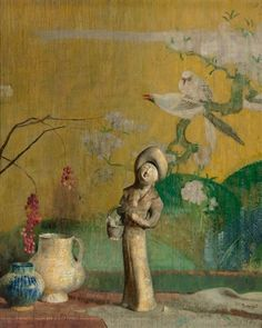 Still Life with Chinese Statue by Hovsep Pushman on Curiator, the world's biggest collaborative art collection.