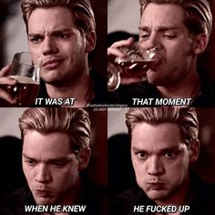Jace is basically a walking meme during the entire dinner scene . Jace is basically a walking meme during the entire dinner scene . Mortal Instruments Books, Shadowhunters The Mortal Instruments, Mortal Instruments Tattoo, Shadow Hunters Cast, Clary Und Jace, Clary Fray, Shadowhunters Series, Dominic Sherwood Shadowhunters, Walking Meme