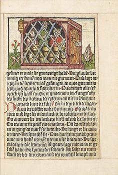 Pfister, Albrecht, ca. 1420-ca. 1470, Historie von Joseph, Daniel, Judith und Esther, Bamberg: Albrecht Pfister, http://enriqueta.man.ac.uk/luna/servlet/media/book/showAllPagesThumbnail?mid=Man4MedievalVC~4~4~981274~142608