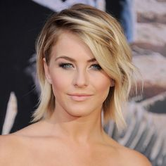 Julianne Hough~ short hair do's are hard to come up with, but this ones cute and pretty.