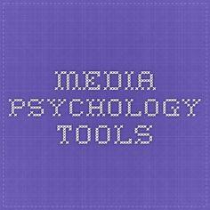 media.psychology.tools
