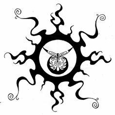 tribal sun by twistedrazorblade