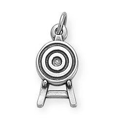 Archery Target Charm | James Avery