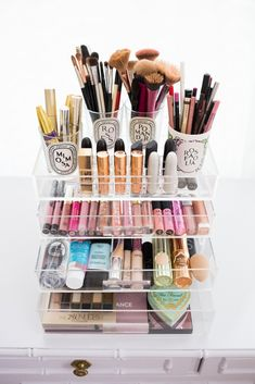 Makeup Storage and Organization | Chronicles of Frivolity
