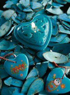 heart - turquoise