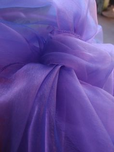 Soft Lavender organza