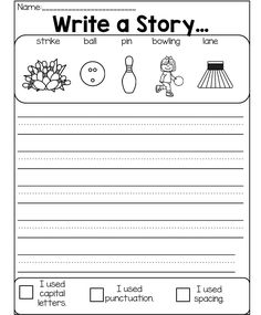 Writing Prompts For Kids, Picture Writing Prompts, Writing Promps, Writing Lessons, Writing Workshop, Writing Practice, Children Writing, Sentence Writing, 1st Grade Writing
