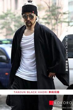 The haori (羽織) is a traditional Japanese hip- or thigh-length jacket worn over a kimono. Tanjun Black Haori, Men's Fashion, Men's Casual Outfit, Men's Style Inspiration, Traditional Dress, Men's Urban Style, Men's Fall Outfits, Men's Clothing Style, Fashion Blogger, Aesthetic Haori, Comfortable Haori, Men's Style, Street Style, Trendy Outfit! #haori #mensfashion #casualfashion #fashionpost #kokorostyle
