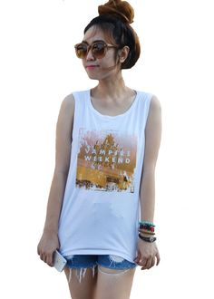Vampire Weekend Tank Tops Shirt Camo Fashion Unisex by dazztees, $14.99