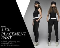 Taylor - The Perfect Trouser - The Placement Pant