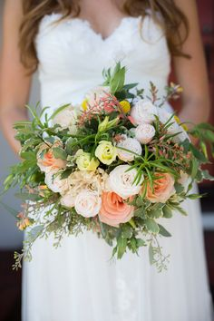 Floral Design: Wildflowers of San Clemente | Photography: heidi-o-photo
